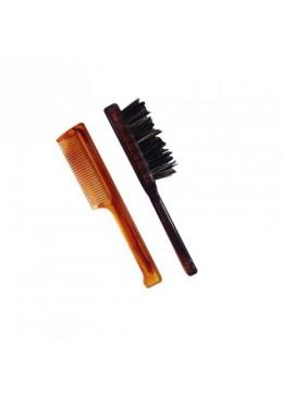 HML Selezione KIT: peigne, brosse à barbe / moustache