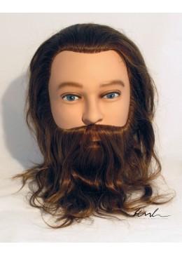HML Selezione Bart und Schnurrbart männlicher Kopf