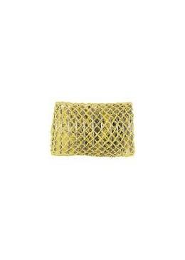 Mareb Mareb: Bigodino rete grande giallo 40 mm