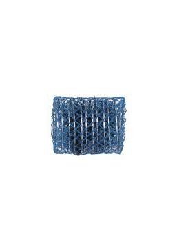 Mareb Mareb: Bigodino rete grande blu 60 mm