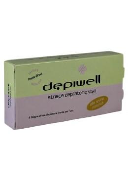 Depiwell Depiwell Face Enthaarungsstreifen 6-tlg