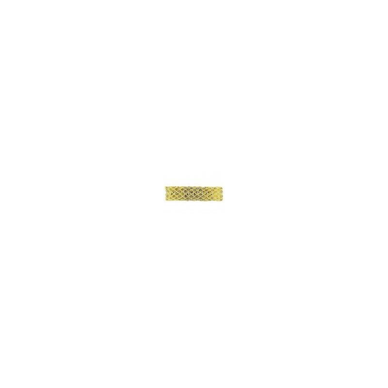 Mareb Mareb: Petit bigoudi filet jaune 17 mm