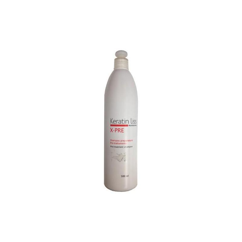 HML Selezione Keratin Liss X-PRE: Préparation shampooing 500ml